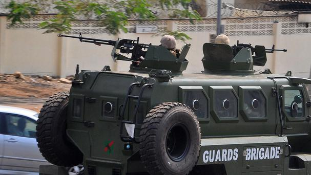 Soldiers on the streets in Nigeria amid attacks by Boko Haram extremists (AP)