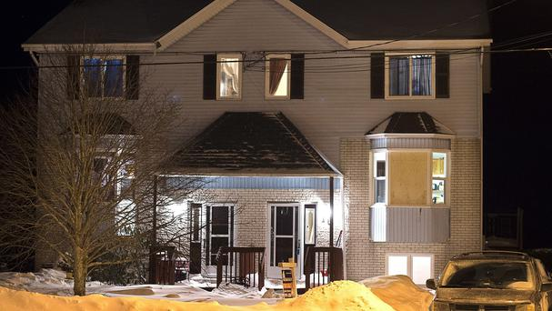 The 19-year-old suspect shot himself at a house in Timberlea, Nova Scotia (The Canadian Press /AP)