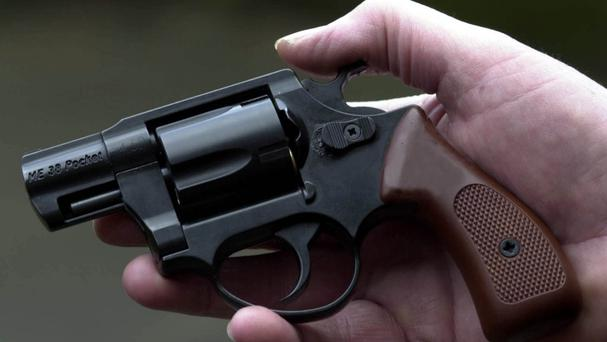 A policeman's daughter shot her eight-year-old sister with her father's gun