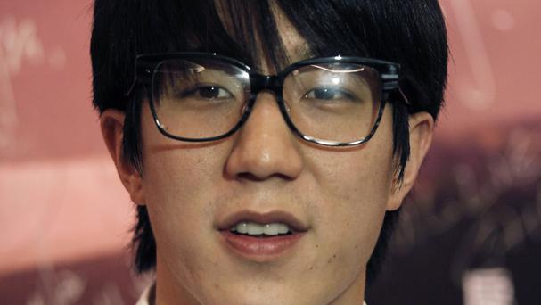 Jaycee Chan has apologised after completing a six-month sentence for allowing people to use marijuana in his apartment (AP Photo/Vincent Yu, File)