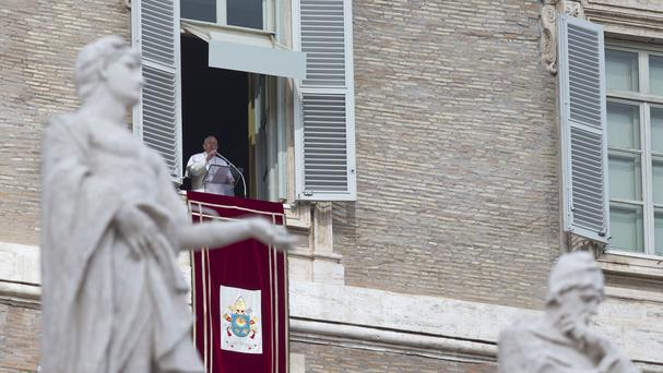 Pope Francis has denounced the killing of Copts in Libya (AP)