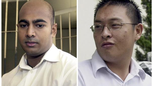 Australian drug traffickers Myuran Sukumaran and Andrew Chan are facing execution in Indonesia (AP)