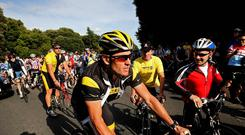 Lance Armstrong had been paid millions of dollars in bonuses during his time of dominance in cycling