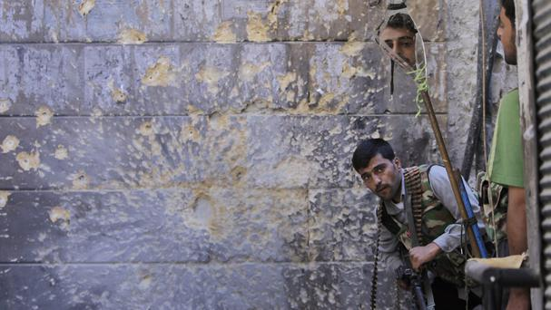 Fighting is raging again in Aleppo