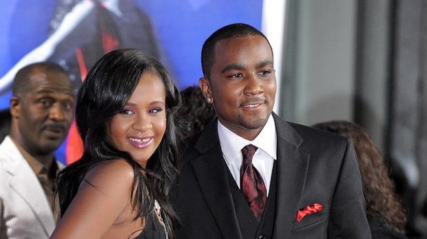 Bobbi Kristina Brown with Nick Gordon