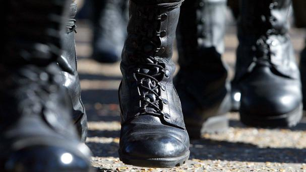 National service has been reintroduced in Lithuania amid escalating tensions in Ukraine