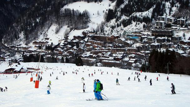 The body of a woman has been found in a snow-clearing machine at a French ski resort