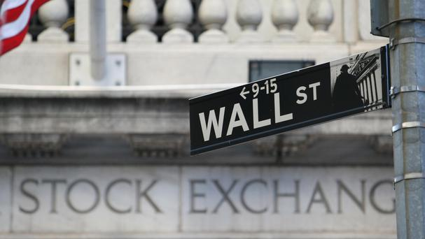 The Dow Jones industrial average ended down 81.72 points at 18,132.70 on Friday