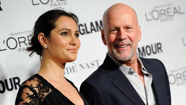 Bruce Willis and his wife Emma Heming (Invision/AP)