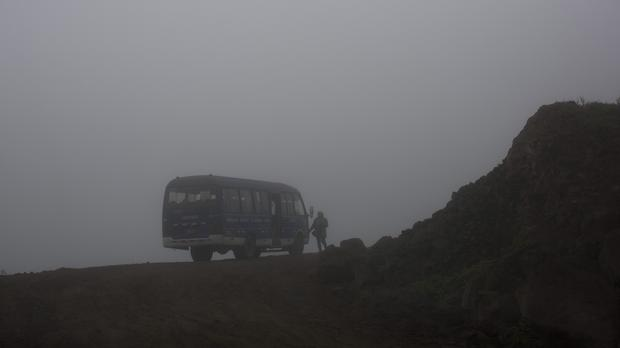 The accident has left at least 36 people dead (AP)