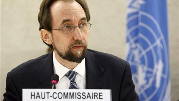UN human rights chief Zeid Ra'ad al Hussein said Boko Haram fighters has murdered women they had take as