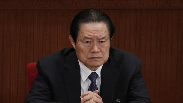 Zhou Yongkang is set to become the highest-level politician to stand trial in China in more than three decades (AP)