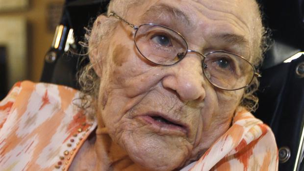 Gertrude Weaver has died, days after becoming the world's oldest documented person (AP)