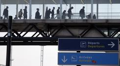 Travellers may be stranded in France following Air France strike action. (AP)
