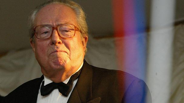 Jean-Marie Le Pen founded France's far-right National Front