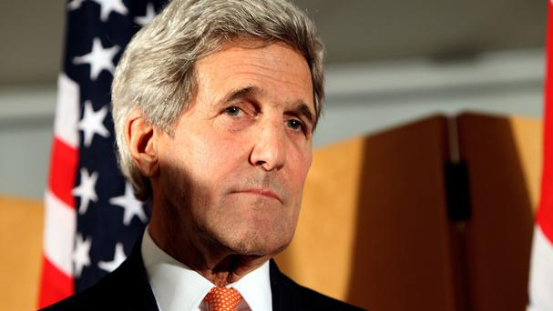 John Kerry has raised US objections with Moscow