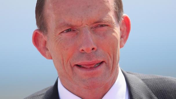 Tony Abbott said the mission would be operational in May