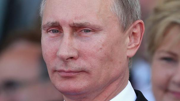 Vladimir Putin has said the Russian economy is strong despite sanctions imposed on the country by the West