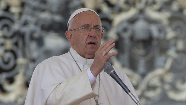 Pope Francis is considering adding a stop in Cuba to his US trip in September (AP)