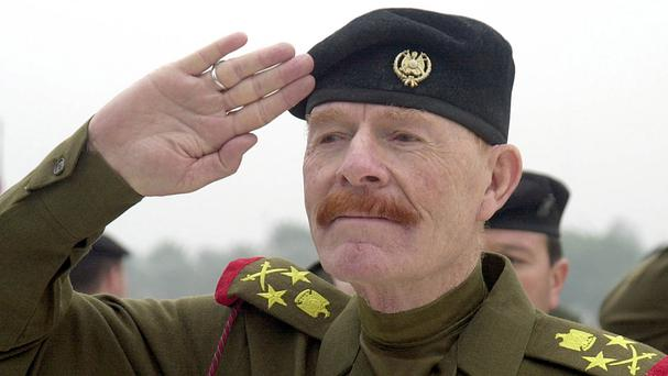Government forces in Iraq believe they have killed Saddam Hussein's former deputy, Izzat Ibrahim al-Douri (AP)