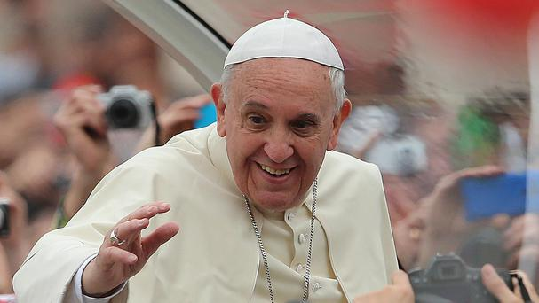 Pope Francis has called for the EU to do more to help Italy cope with desperate migrants