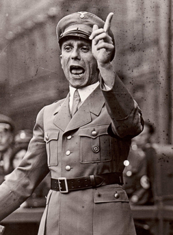 Millions died under Nazi rule between 1933 and 1945, including six million Jewish people. In May 1945, with Germany on the brink of defeat, Goebbels poisoned his six children before ordering an SS soldier to shoot him and his wife Magda.