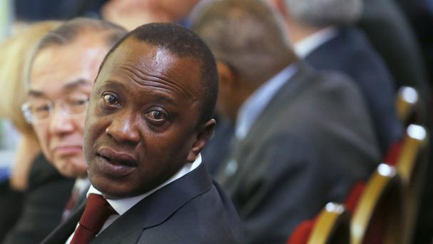 A man has been arrested on suspicion of plotting an attack on Kenya's President Uhuru Kenyatta