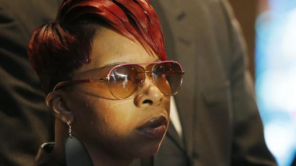Michael Brown's mother Lesley McSpadden is launching a wrongful death case against the city of Ferguson (AP)