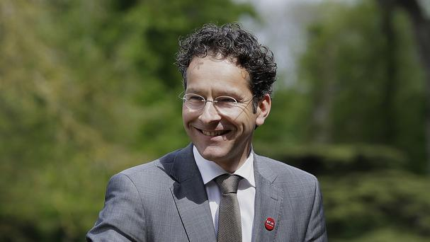 The Eurogroup president, Jeroen Dijsselbloem, has been offering free advice to Greek voters on today's ballot, not part of his job description