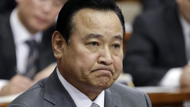 South Korea's prime minister Lee Wan Koo has resigned amid a bribery scandal (AP)