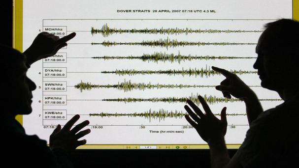 An earthquake has been recorded in Papua New Guinea