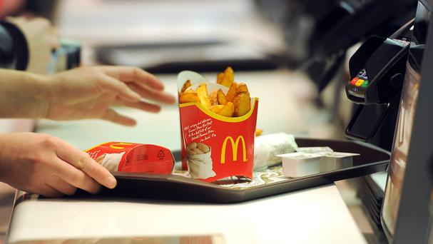 McDonald's is fighting intensifying competition from a variety of players