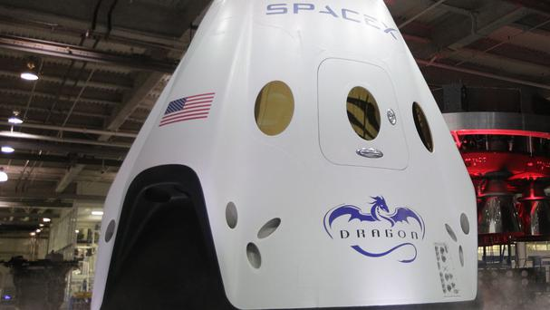SpaceX has conducted the first major test of its new, super-streamlined launch escape system for astronauts (AP)