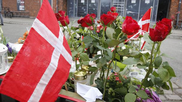 The shootings occurred in Copenhagen in February (AP)