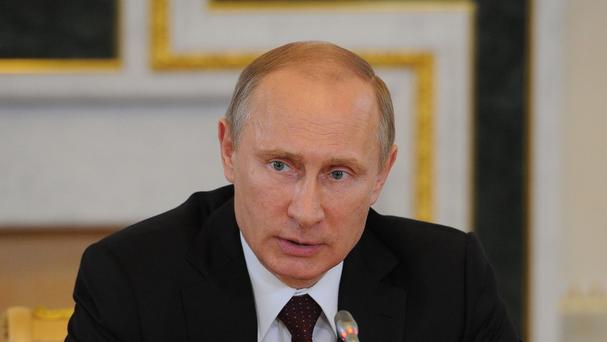 Vladimir Putin's Russia has denied the presence of its forces in Ukraine