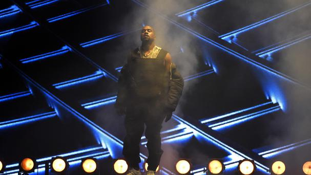 Kanye West performs at the Billboard Music Awards (Invision/AP)
