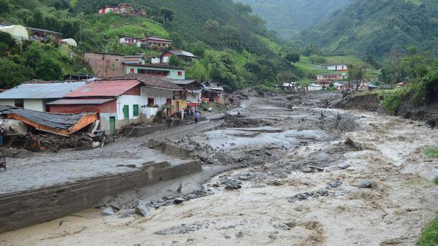 Dozens of people died in the mudslide (AP)