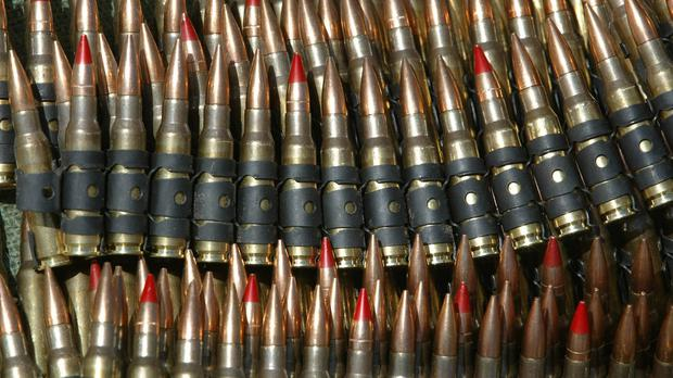 Senior republican sources said the arsenal - which consists mainly of never-used assault rifles and medium machineguns - was supplied to the leadership of the terror group in the 1980s by the North Korean government and the old Soviet KGB and were hidden in specially built bunkers