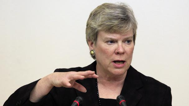 Rose Gottemoeller, under secretary for arms control and international security, spoke for the US delegation (AP)