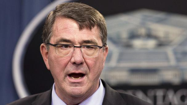 Ash Carter said Iraqi troops need to show a willingness to fight against IS (AP)