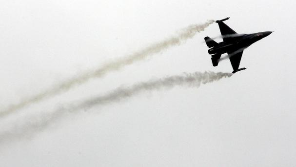 F-16 fighter jets are among the aircraft taking part