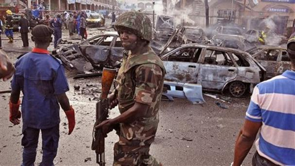 An alarming spike in suicide bombings by girls and women abused by Boko Haram has been reported (AP)
