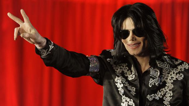 Michael Jackson speaks at a press conference at London's O2 Arena in 2009 (AP)