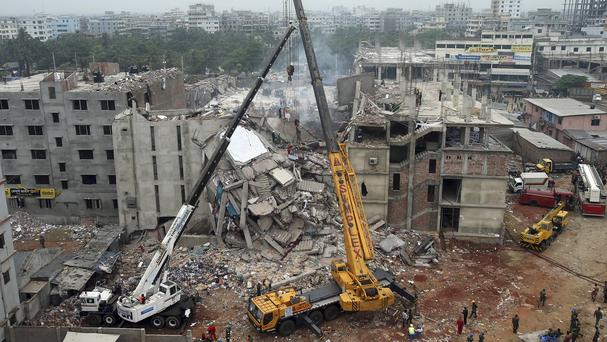 The Rana Plaza collapse in Dhaka killed 1,137 people (AP)