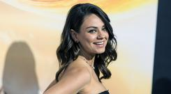 Mila Kunis at a film premiere earlier this year (AP)