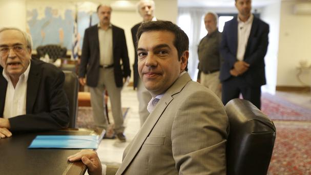 Greece's Prime Minister Alexis Tsipras said Greece has submitted a proposal for an agreement with its creditors (AP)