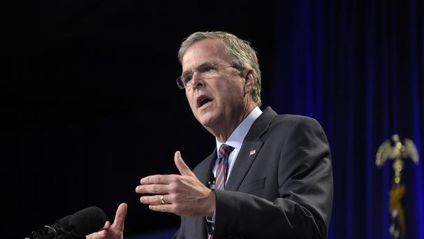 Former Florida governor Jeb Bush has hinted at a presidential campaign. (AP)