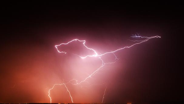 Lightning strikes injured festival-goers in Germany