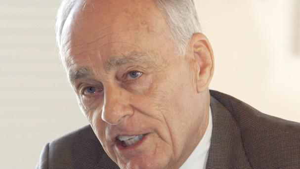Vincent Bugliosi, the prosecutor in the Charles Manson trial, who has died aged 80 (AP Photo/Toby Talbot, File)