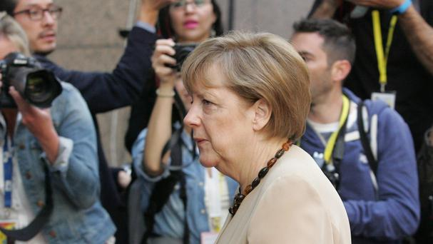 The investigation into the alleged tapping of Angela Merkel's phone has been closed. (AP)